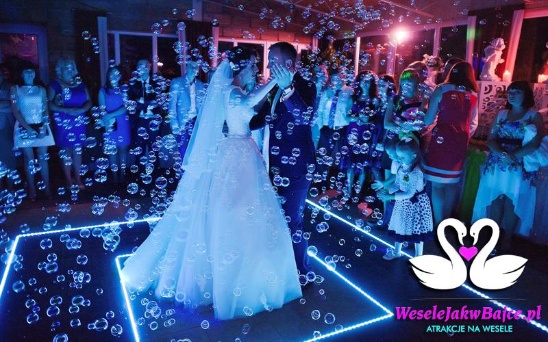 Bańki Mydlane na ślub, wesele<br>
